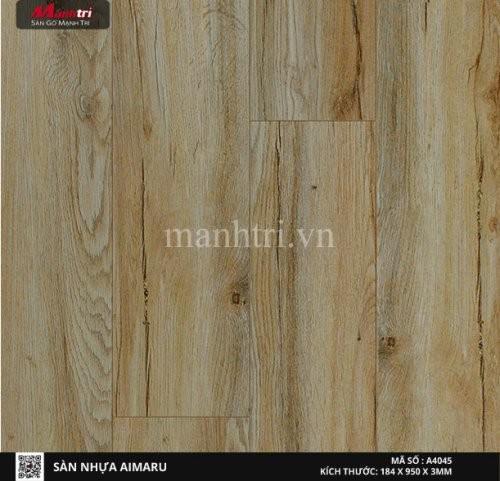 Sàn nhựa giả gỗ Aimaru 4045