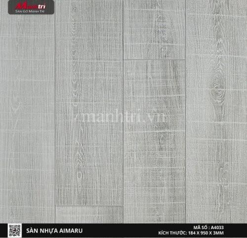 Sàn nhựa giả gỗ Aimaru 4033