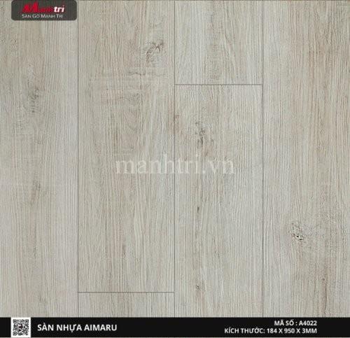 Sàn nhựa giả gỗ Aimaru 4022