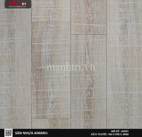 Sàn nhựa giả gỗ Aimaru 4031
