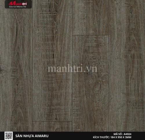 Sàn nhựa giả gỗ Aimaru 4024