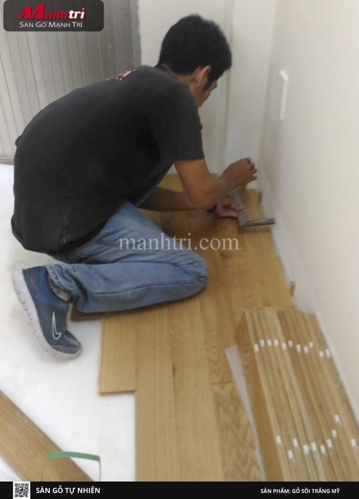 Các bước thi công cơ bản của gỗ tự nhiên Sồi trắng Mỹ