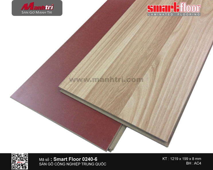 Sàn gỗ Smart FLoor 0240-6