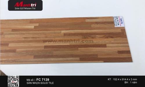 Sàn nhựa Solid Tile FC 7139