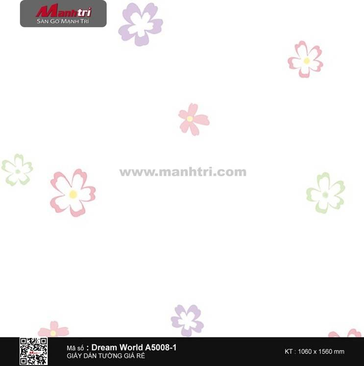Giấy dán tường Dream World A5008-1
