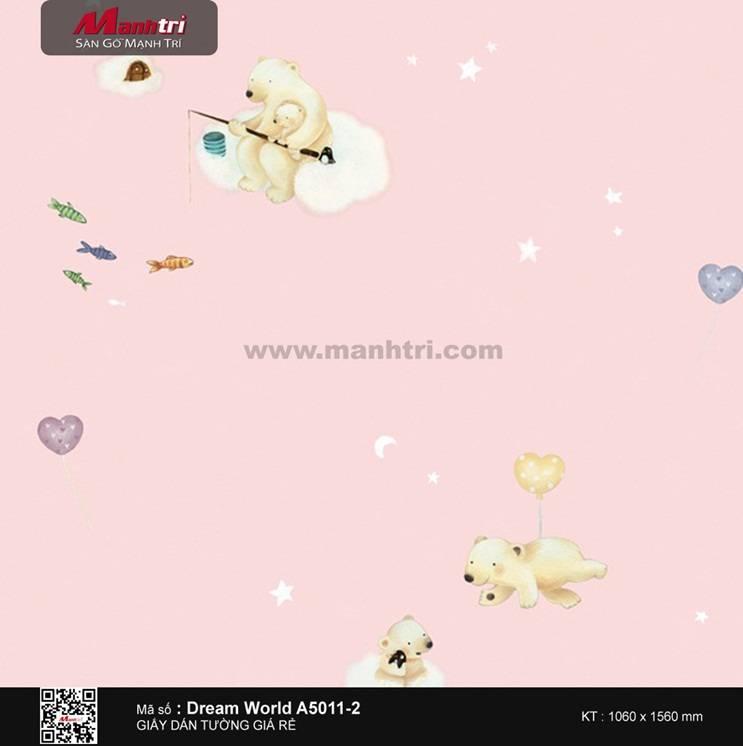 Giấy dán tường Dream World A5011-2