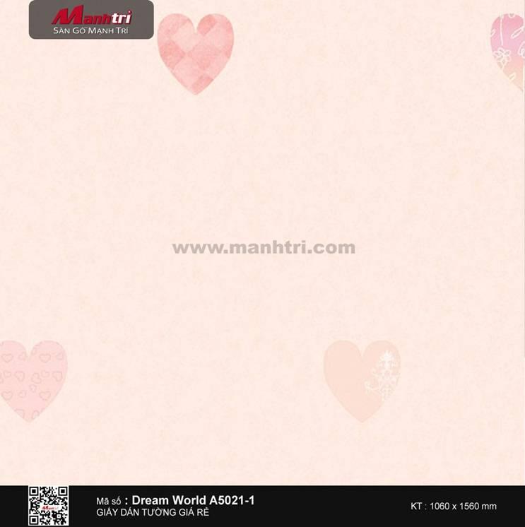 Giấy dán tường Dream World A5021-1