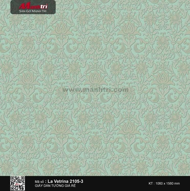 Giấy dán tường La Vetrina 2105-3