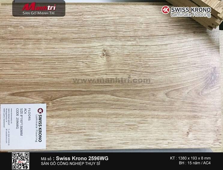 Sàn gỗ Swiss Krono 2596WG