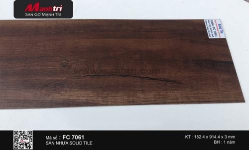 Sàn nhựa Solid Tile FC 7061
