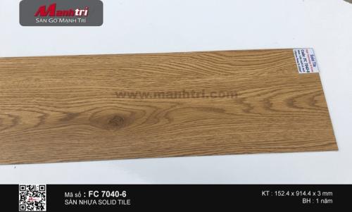 Sàn nhựa Solid Tile FC 7040-6