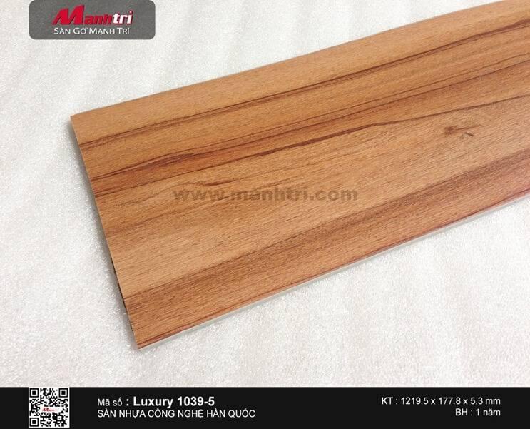 Sàn nhựa hèm khóa Luxury 1039-5