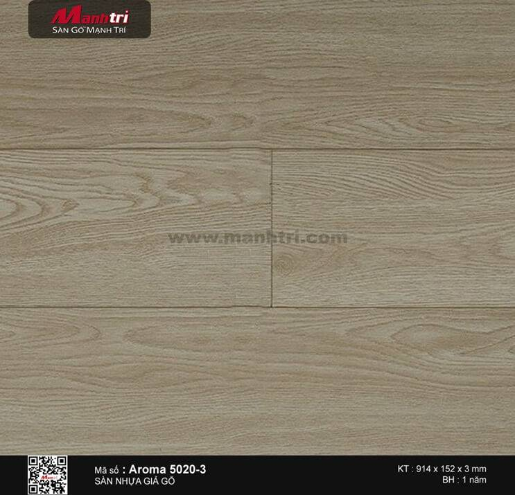 Sàn nhựa Aroma 5020-3