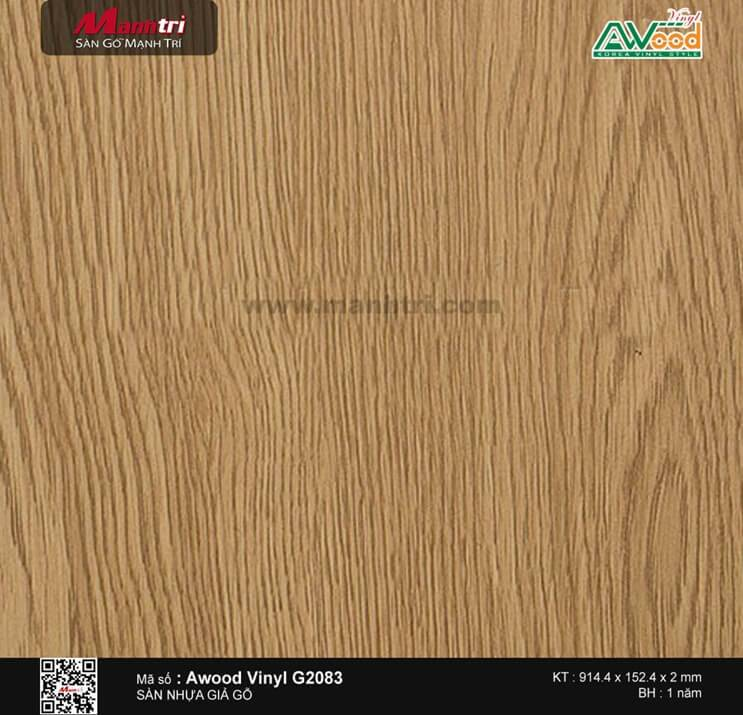 Sàn nhựa AWood Vinyl G2083