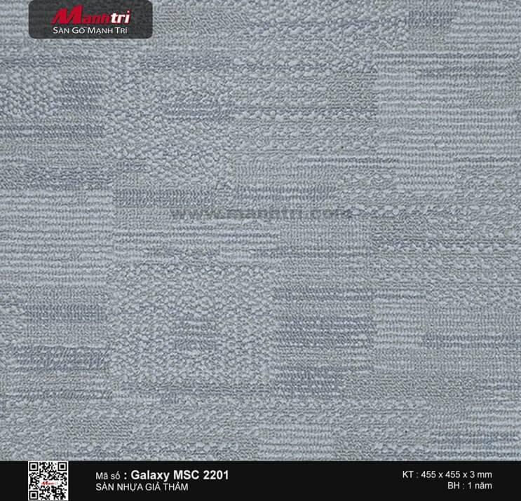 Sàn nhựa vân thảm Galaxy MSC 2201