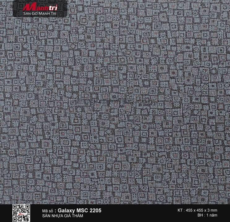 Sàn nhựa vân thảm Galaxy MSC 2205