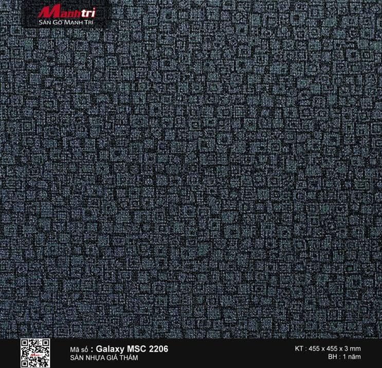Sàn nhựa vân thảm Galaxy MSC 2206