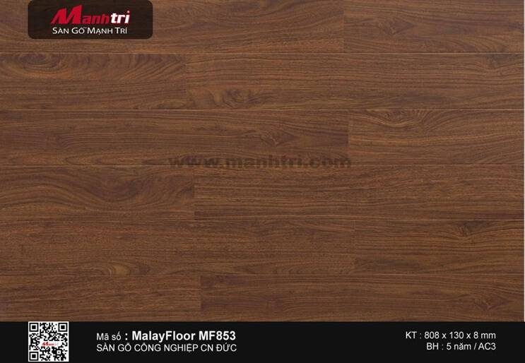 Sàn gỗ Malay Floor MF853