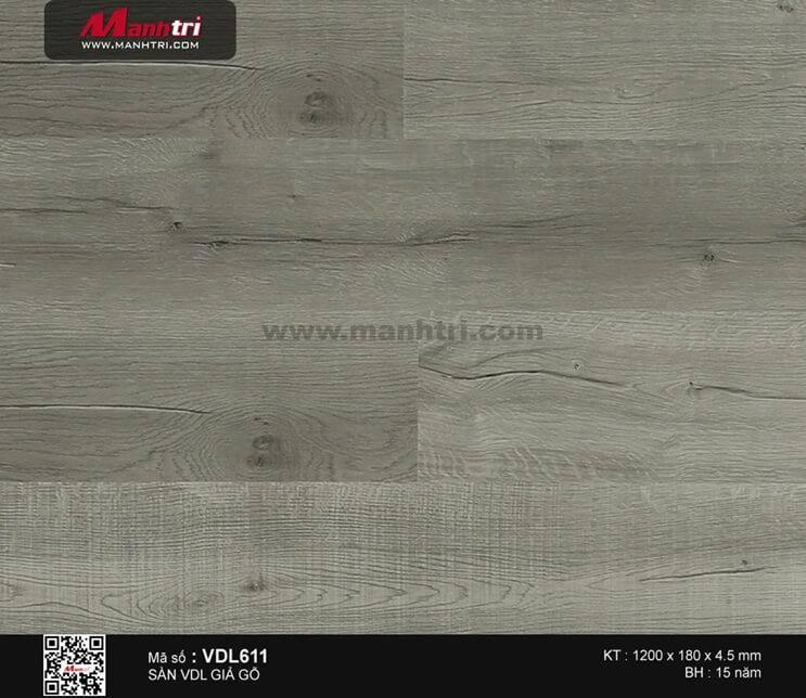Sàn nhựa giả gỗ Smartwood VDL611