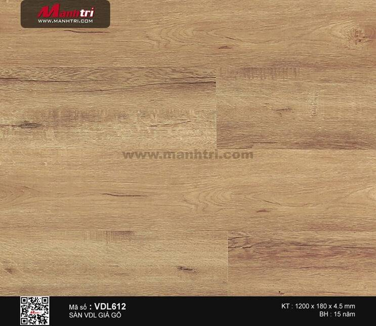 Sàn nhựa giả gỗ Smartwood VDL612