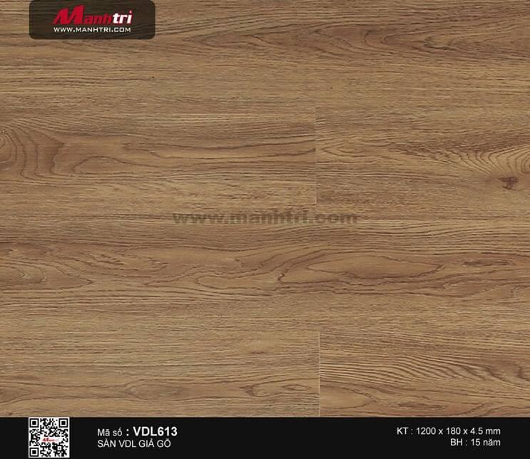 Sàn nhựa giả gỗ Smartwood VDL613