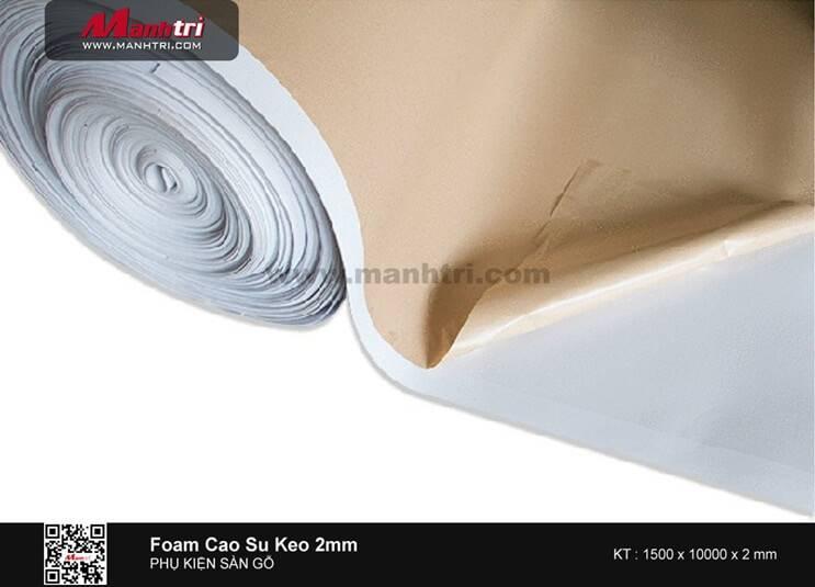 Foam - Xốp cao su keo 1 mặt - dày 2mm