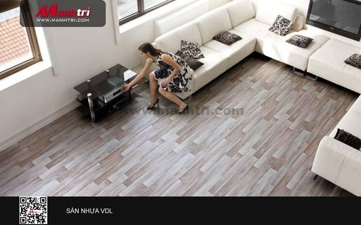 Ưu điểm sàn VDL so với sàn PVC thông thường