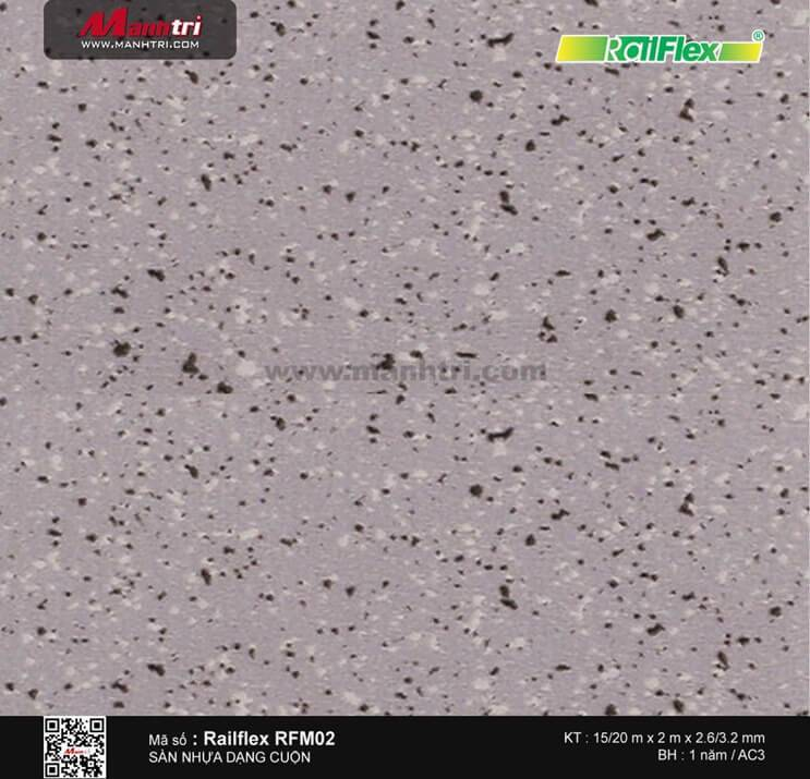 Sàn nhựa cuộn Railflex RFM02