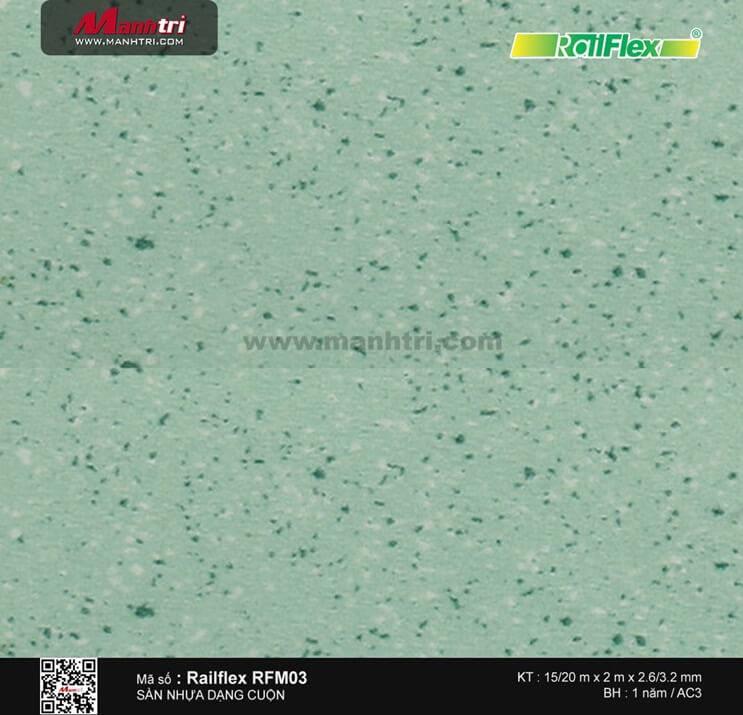 Sàn nhựa cuộn Railflex RFM03