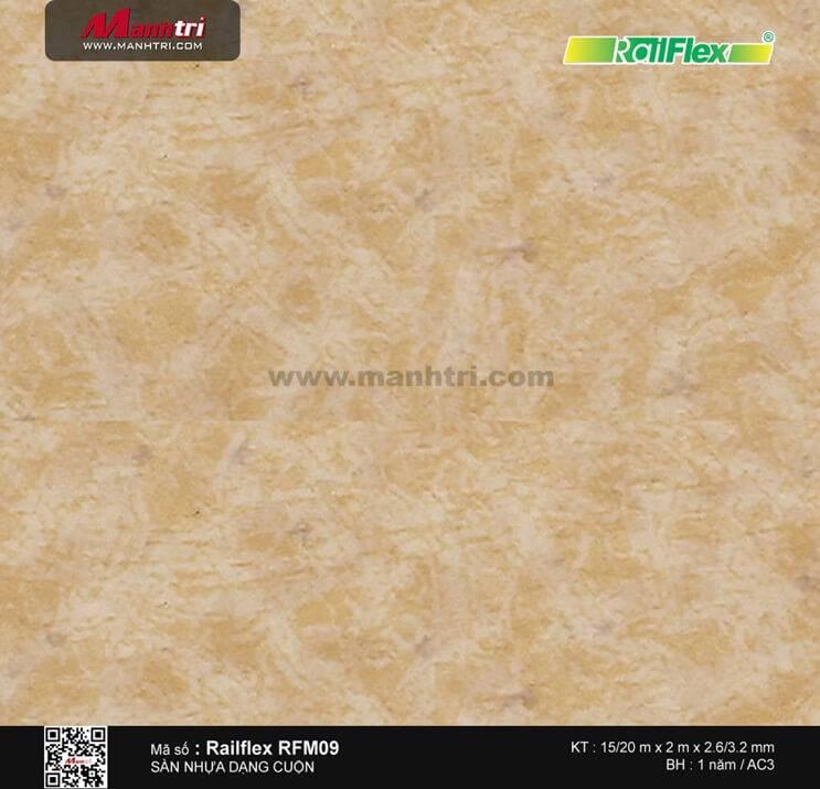 Sàn nhựa cuộn Railflex RFM09