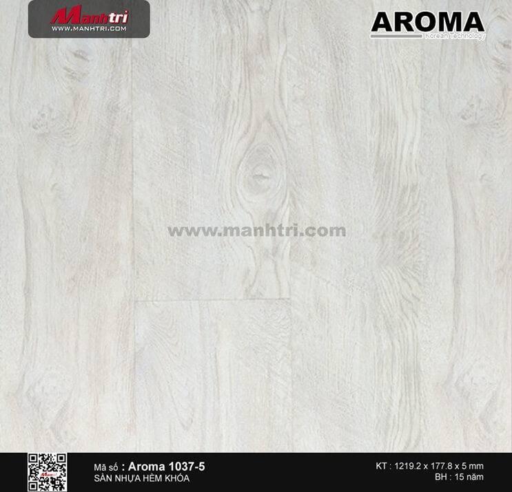 Sàn nhựa hèm khóa Aroma 1037-5