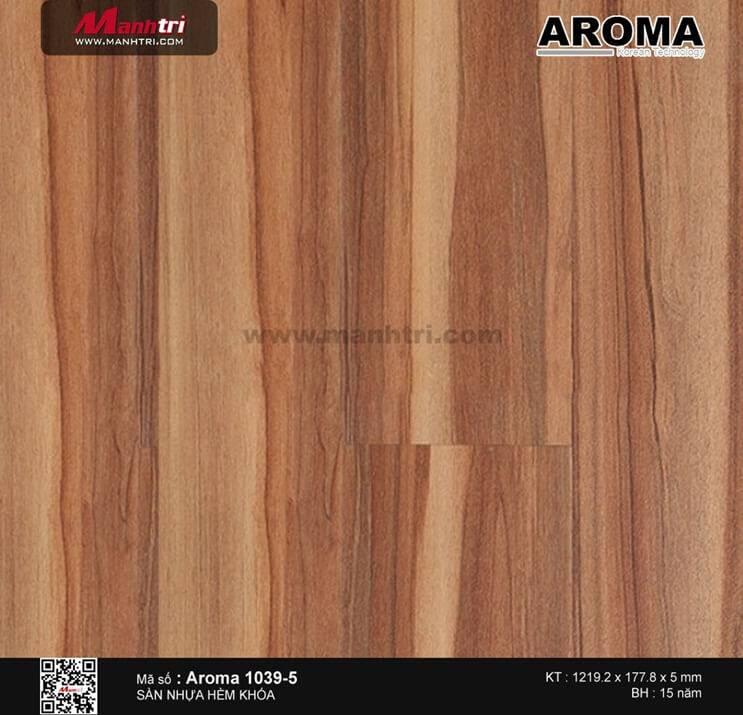 Sàn nhựa hèm khóa Aroma 1039-5