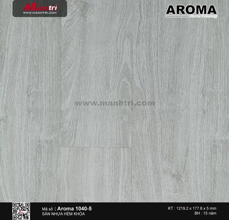 Sàn nhựa hèm khóa Aroma 1040-5