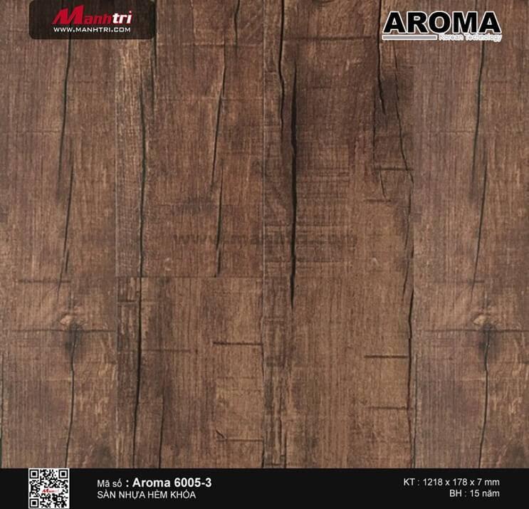 Sàn nhựa hèm khóa Aroma 6005-3