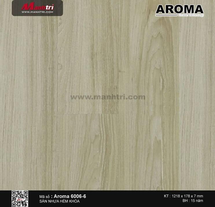 Sàn nhựa hèm khóa Aroma 6006-6