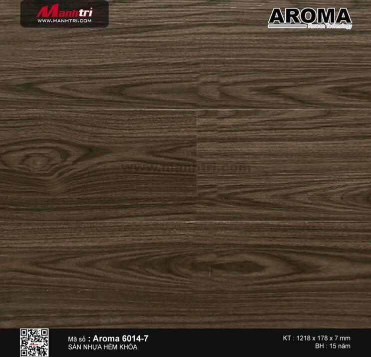 Sàn nhựa hèm khóa Aroma 6014-7