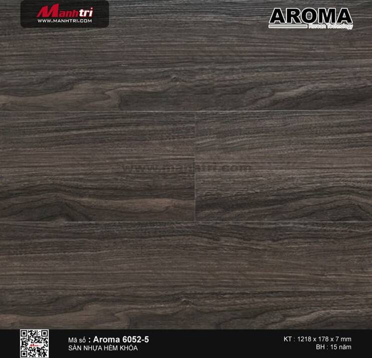 Sàn nhựa hèm khóa Aroma 6052-5