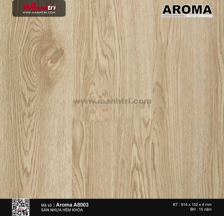 Sàn nhựa hèm khóa Aroma A8003