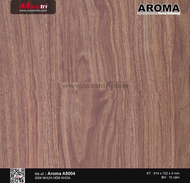 Sàn nhựa hèm khóa Aroma A8004