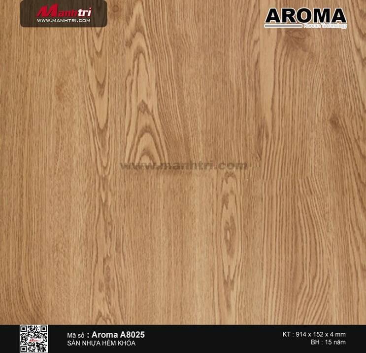 Sàn nhựa hèm khóa Aroma A8025