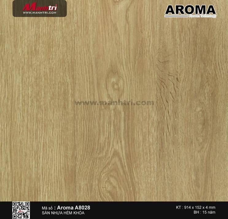 Sàn nhựa hèm khóa Aroma A8028