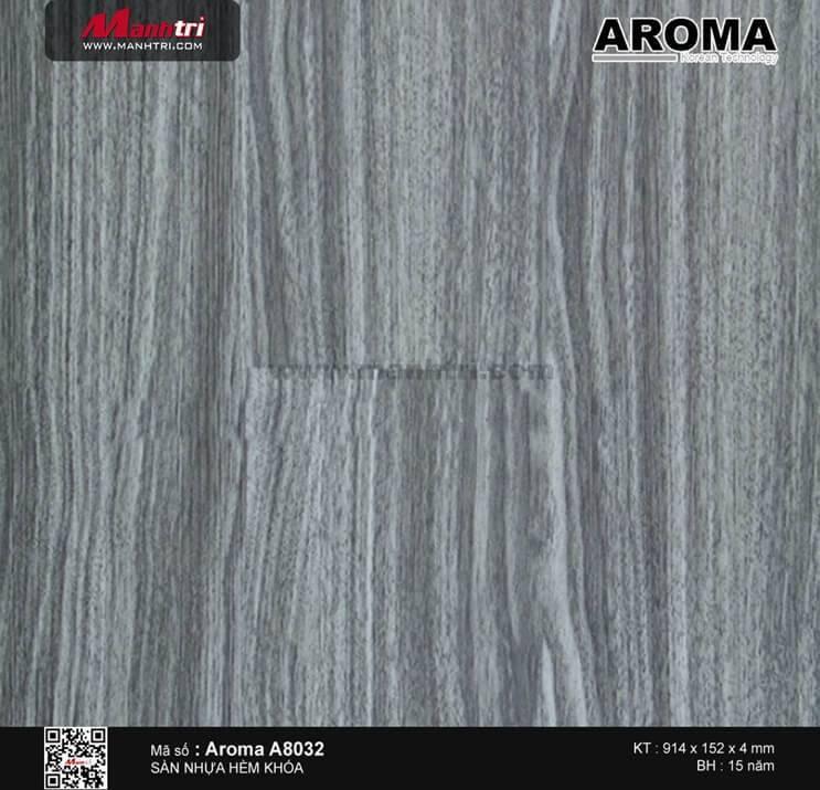Sàn nhựa hèm khóa Aroma A8032