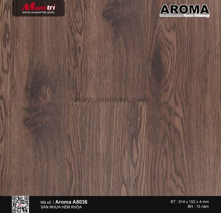 Sàn nhựa hèm khóa Aroma A8036