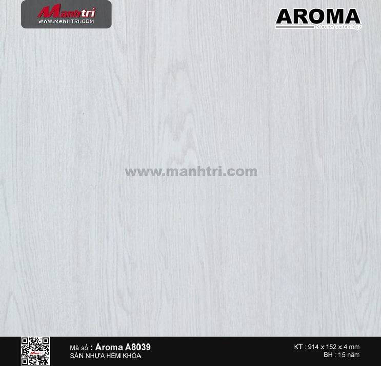 Sàn nhựa hèm khóa Aroma A8039