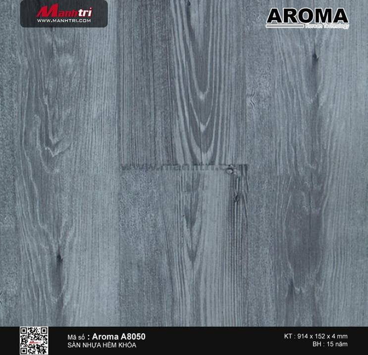 Sàn nhựa hèm khóa Aroma A8050