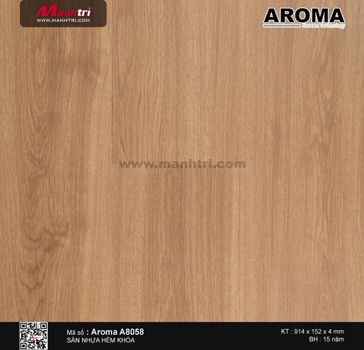Sàn nhựa hèm khóa Aroma A8058