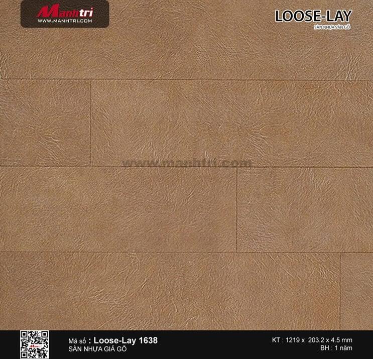 Sàn nhựa giả gỗ Loose-Lay 1638