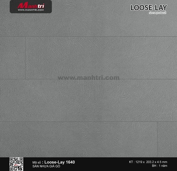 Sàn nhựa giả gỗ Loose-Lay 1640