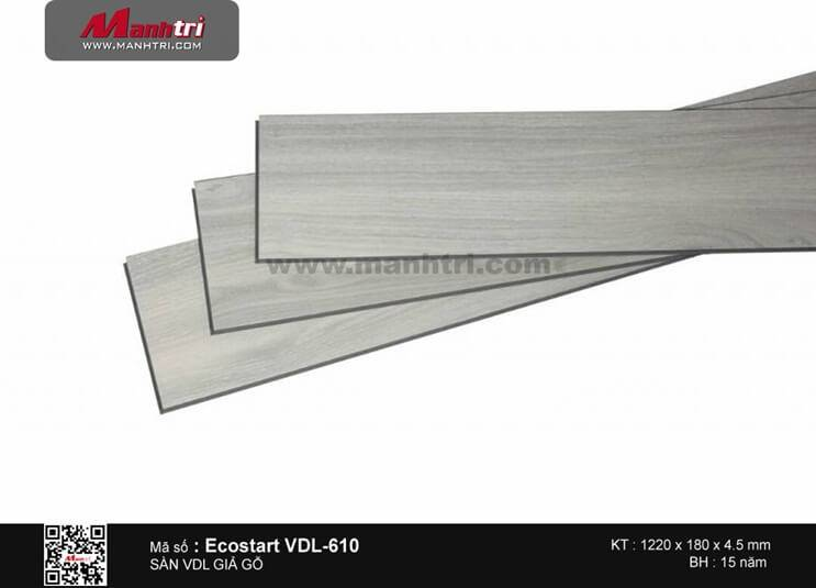 Sàn nhựa giả gỗ Ecostar VDL-610