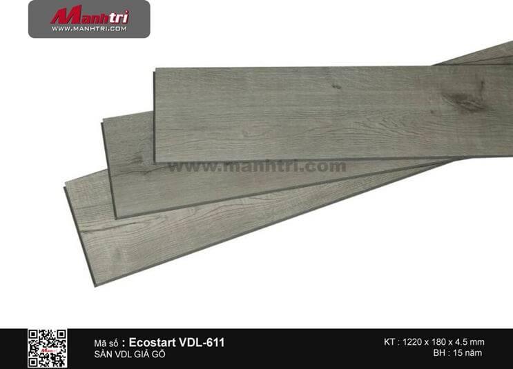 Sàn nhựa giả gỗ Ecostar VDL-611